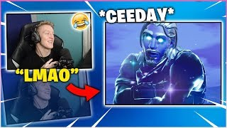 "TFUE Reacts To *CEEDAY* ""THANOS DEFAULT""!"
