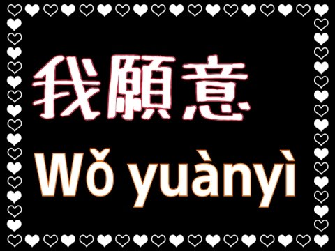 王菲【我願意】I'm Willing (KTV with Pinyin)