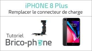 Tutoriel iPhone 8 Plus : remplacer le connecteur de charge (USB Dock)