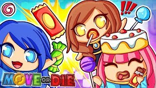 Eat all the candy or else... MOVE or DIE!