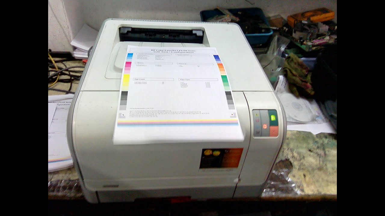 DRIVERS UPDATE: HP COLORJET 1215