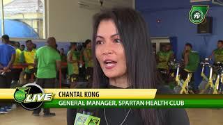 REGGAE BOYZ CONCACAF NATIONS LEAGUE TRAINING  @ SPARTAN HEALTH CLUB