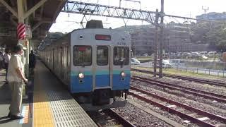 【入線】伊東駅に伊豆急行8500系熱海行きが入線 静岡1-1-3
