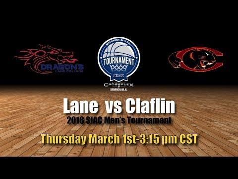 2018 SIAC Men's Tournament: Lane vs Claflin