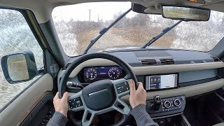 2020 Land Rover Defender - POV On/Off-Road Drive (Binaural Audio)