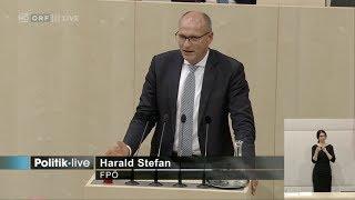 Harald Stefan - Strenge Regeln für Parteispenden - 20.9.2017