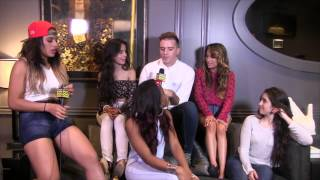 Backstage Interview with Fifth Harmony @ Nokia Live | AfterBuzz TV Interview