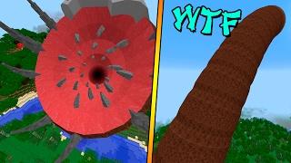 MODULAR BOSSES MOD - El Gusano mas GIGANTE de Minecraft - Minecraft mod 1.8 Review