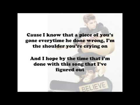 Justin Bieber - Fall Acoustic - (Lyrics On Screen) HD
