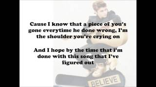 Repeat youtube video Justin Bieber - Fall Acoustic - (Lyrics On Screen) HD
