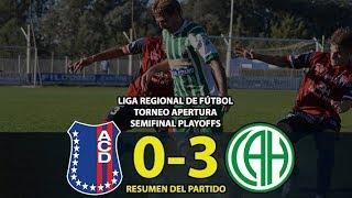 AUTOMOTO vs ATLÉTICO HUANGUELÉN - Resumen (0-3) | Semifinal Playoffs | LIGA REGIONAL DE FÚTBOL