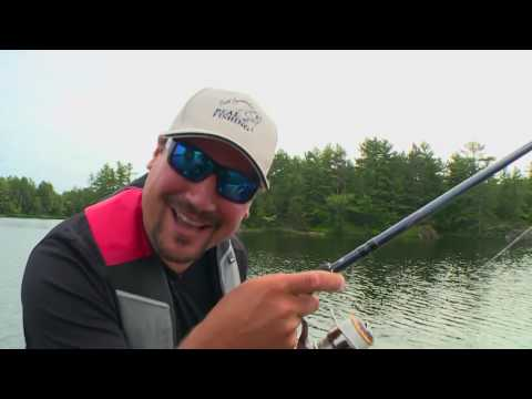 Real Fishing Show - French River Bass - Bob Izumi