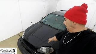 EK engine removal EkProyect#2 Kustoon car garage