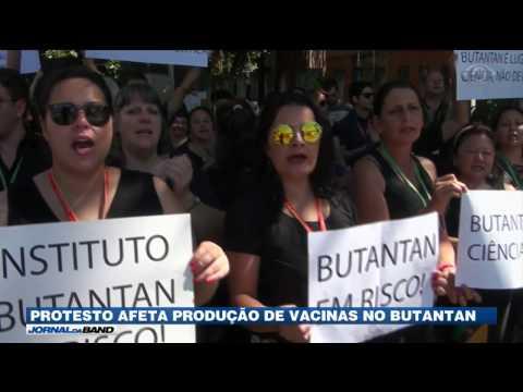 Pesquisadores param produção de vacinas em protesto