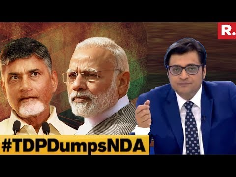 11 Party 'United Front' Against BJP? #TDPDumpsNDA | The Debate With Arnab Goswami
