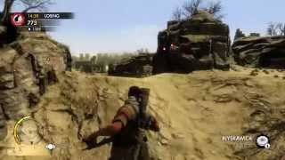 Sniper Elite 3 Ultimate Edition - PS4 Multiplayer Team Distance King Ruins #1