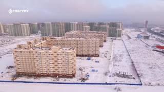 ЖК «Мурино 2017» — аэросъемка СПБГуру. Ноябрь 2016.