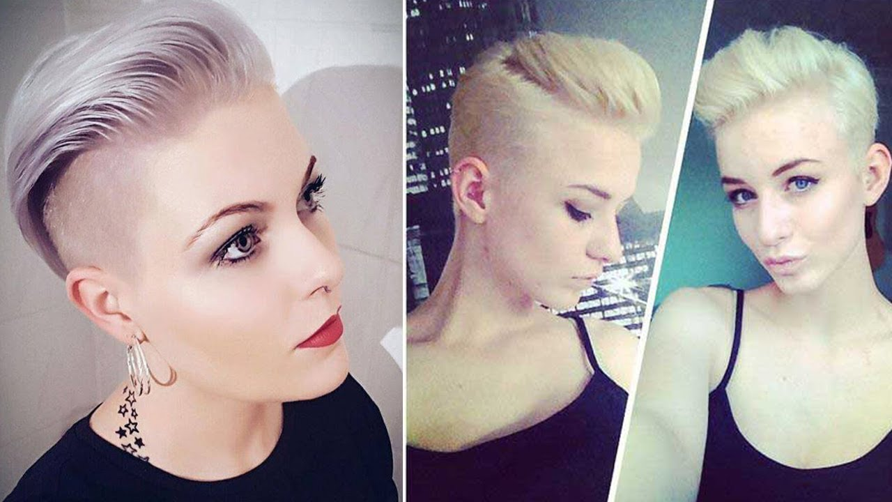 Super Short Hair Cuts For Ladies Youtube