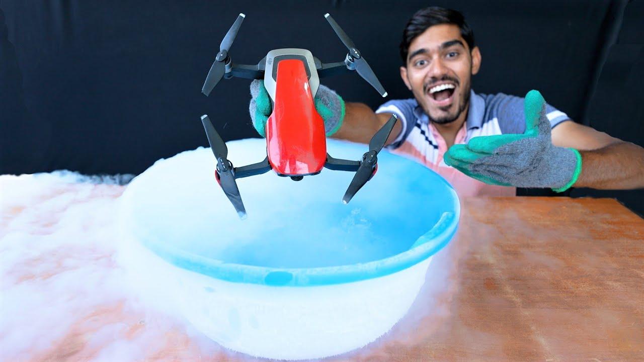 Will Liquid Nitrogen Kill My Drone?🥶अब क्या होगा?