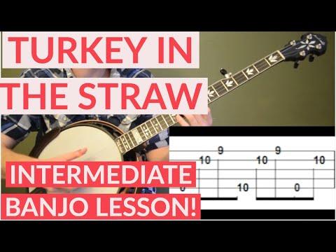 Turkey In The Straw Intermediate Banjo Lesson