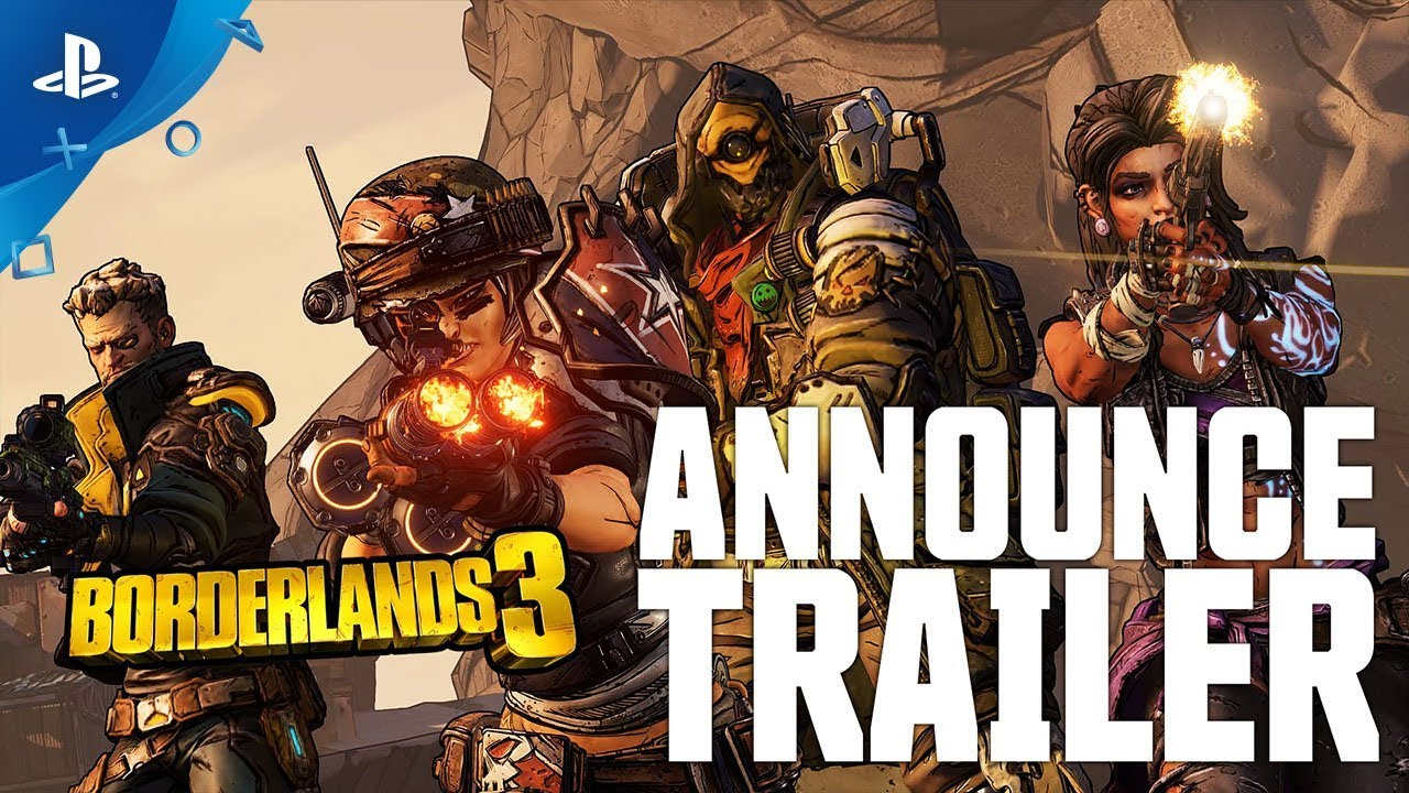 Borderlands 3 – trailer najave | PS4