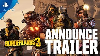 Borderlands 3 - Announce Trailer | PS4