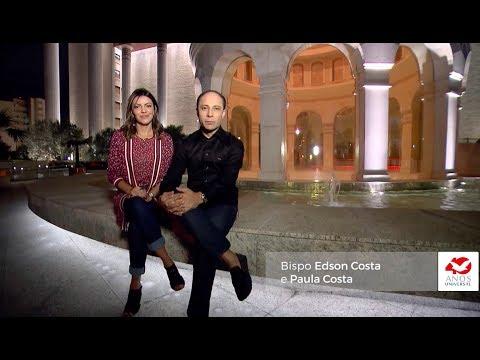 Universal 40 anos - Bispo Edson Costa e Paula Costa