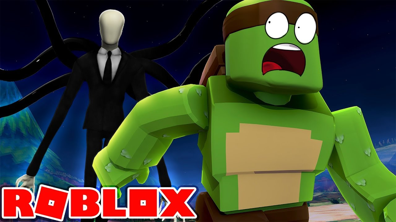Roblox Tinyturtle Becomes Slenderman Youtube