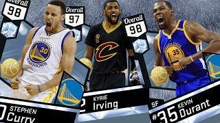 NBA 2K17 My Team - Finals MVP Diamond Kevin Durant! PS4 Pro