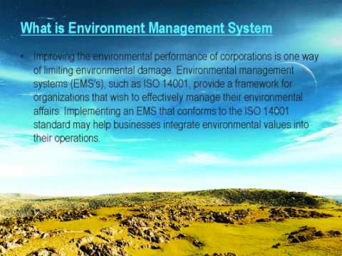 essay on environmental management system Below is an essay on environmental management system from anti essays, your source for research papers, essays, and term paper examples.
