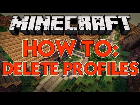 How to Delete Profiles on the New Minecraft Launcher