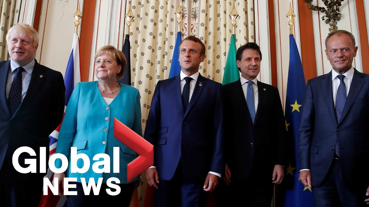 G7 summit: World leaders meet to talk trade, economy and climate change