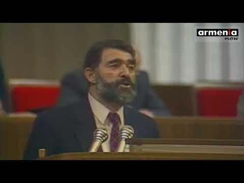 Армяно-азербайджанский конфликт на первом Съезде народных депутатов СССР |  1989
