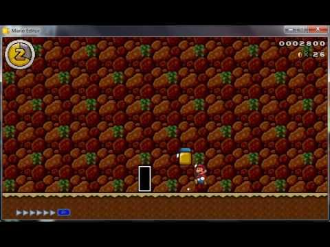 Mario Editor   my custom levels