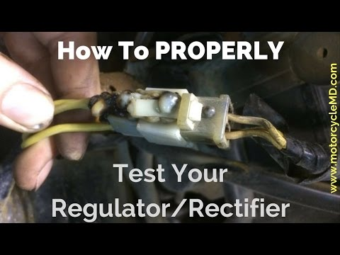 How to test a regulator/rectifier