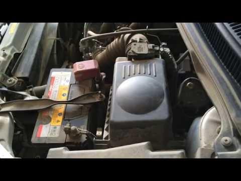 Замена масла и фильтров в двигателе  тойота королла спасио NZE121  2002 года