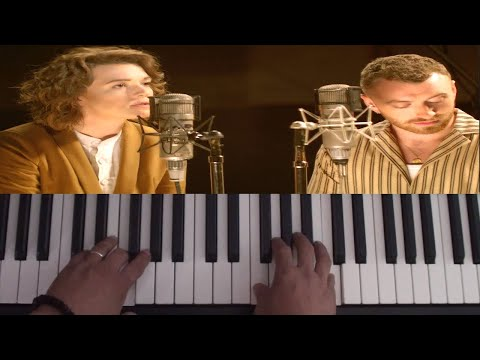 How To Play Party Of One On Piano - Brandi Carlile Ft. Sam Smith - Piano Tutorial