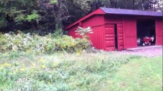 Shipping Container Garage Workshop