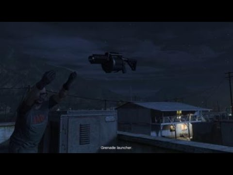GTA V Where did the grenade launcher come from