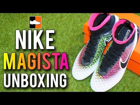 Nike Magista Obra Sg pro Soccer Cleats White Poison Green
