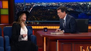 "Stephen Joins Carly Simon On ""Mockingbird"""