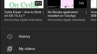 YouTube DARKMODE No Jailbreak Required