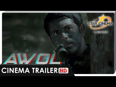 Cinema Trailer | 'AWOL' | Gerald Anderson