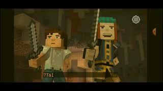 minecraft story mode season two/capitulo#2/guante de primaria y