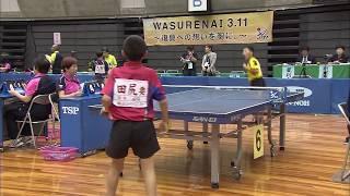 【全農杯 全日本卓球選手権大会 ホープス・カブ・バンビの部】ダイジェスト⑫