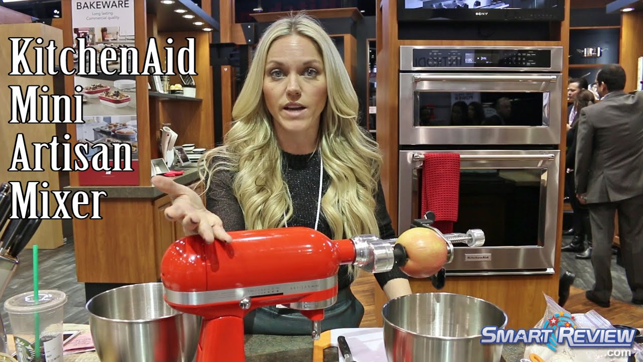 Ihhs 2016 New Kitchenaid Mini Artisan Stand Mixer