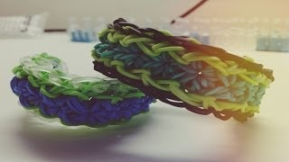 *new* Wysteria Bracelet Tutorial On The Rainbow Loom