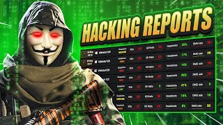 EXPOSING my WARZONE HACKING REPORTS!