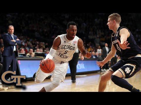 Georgia Tech Buzzer Beater vs. Notre Dame: Josh Okogie Lay-in As Time Expires