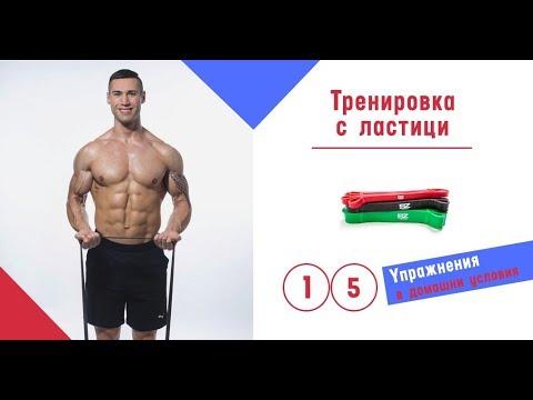 Тренировка с ластици  - 15 Упражнения с ластици, който могат да бъдат изпълнени навсякъде